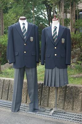北稜高等学校制服画像