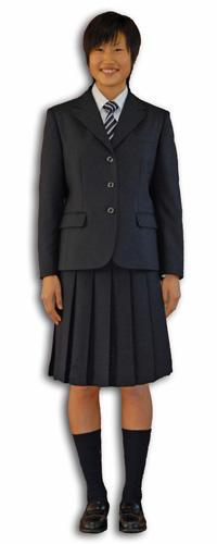 西城陽高校 制服