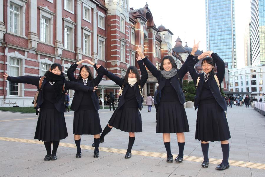 西城陽高等学校制服画像