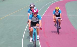 自転車の 自転車競技部 女子 インターハイ : 水泳部(女子水球)