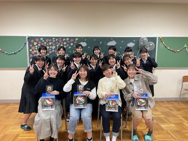 女バレそつ部式.JPG