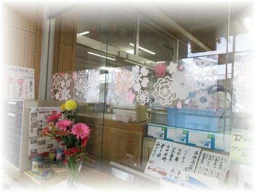 2019年4月の館内装飾(桜)