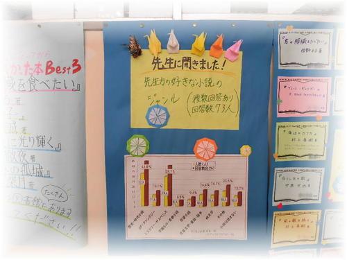 2019読書週間渡り廊下ポスター