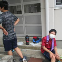 陸上競技部―夏休みの練習風景
