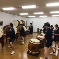 「和知太鼓」練習スタート