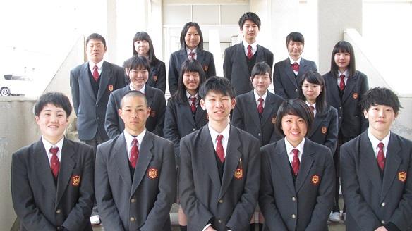 峰山高等学校画像